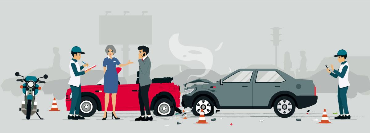 en cas de Sinistre Auto