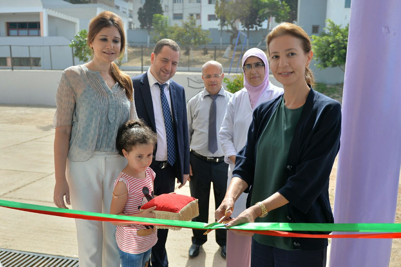 2017 : Inauguration en partenariat avec l'Association Oum El Ghait